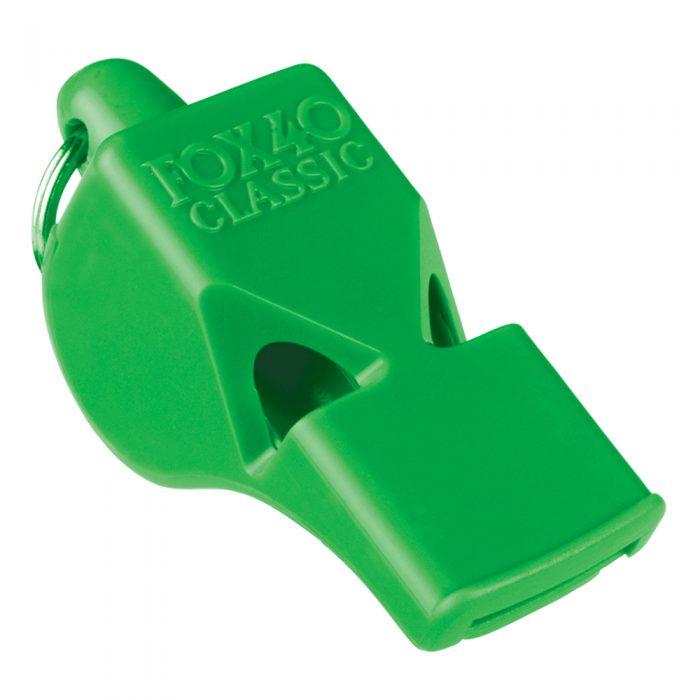 Sifflet Fox 40 Classic vert néon