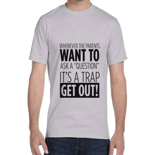 Chandail en coton avec citation comique pour arbitre de soccer