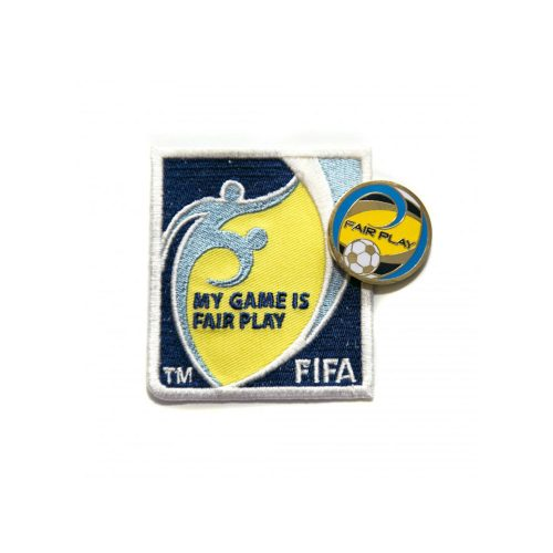 Badge d'épaule et pièce en métal FIFA MY GAME IS FAIR PLAY